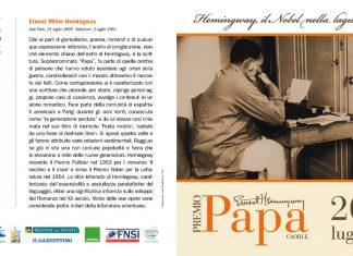 Premio Papa 2020