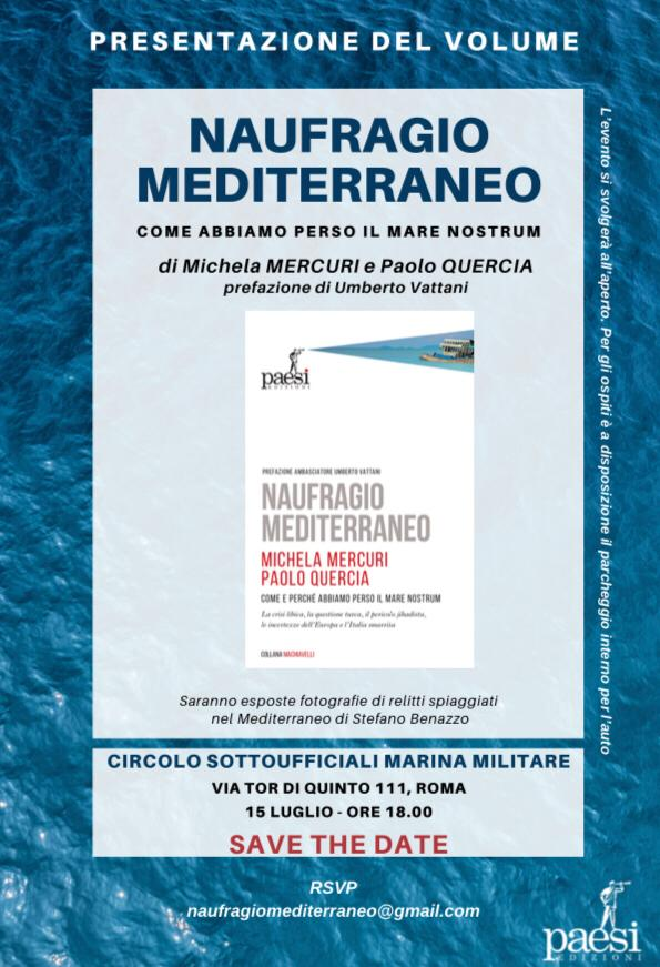 Michela Mercuri - Naufragio Mediterraneo